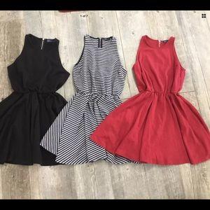 GAP Bundle 3 Skater Style Dresses Size XS
